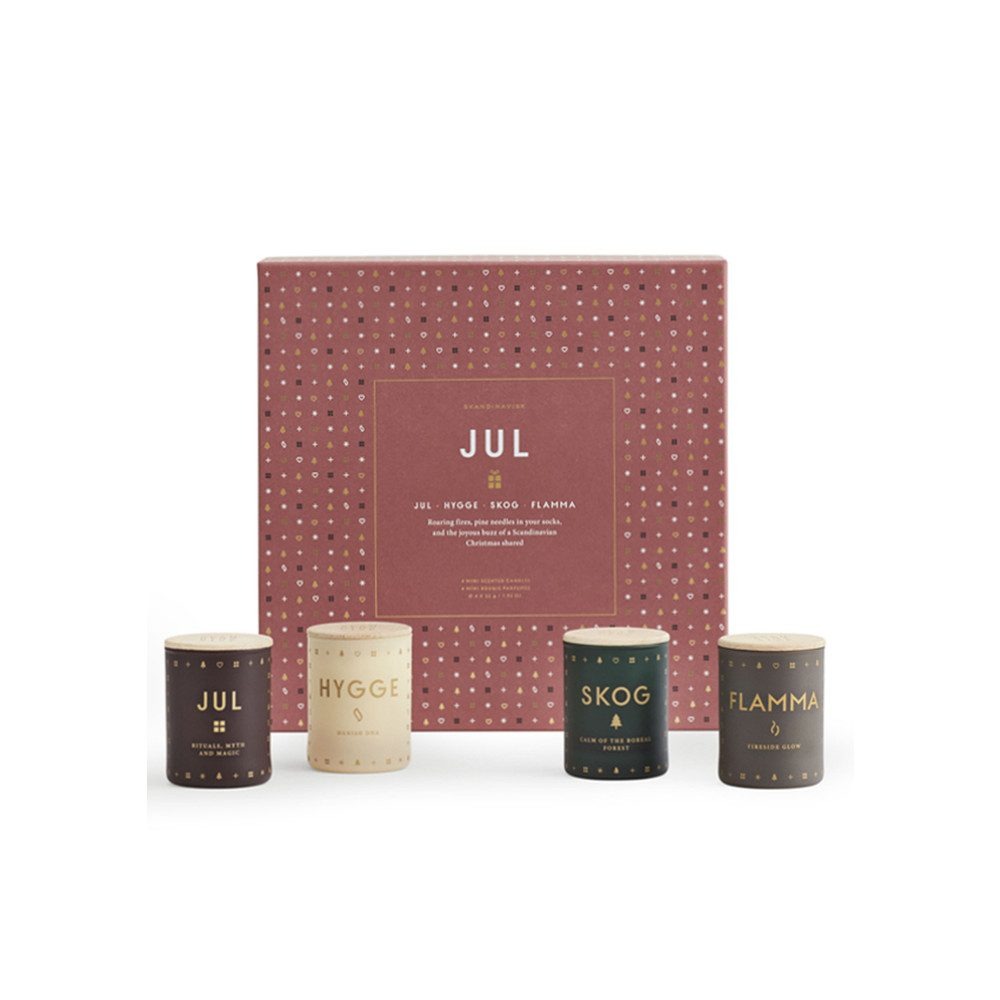 Scented Mini Candle Set - Jul