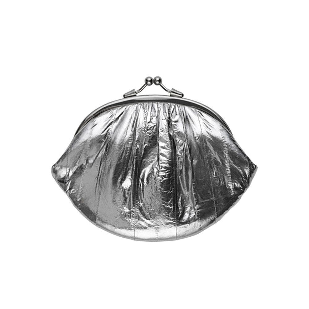 Granny Rainbow Metallic Purse - Silver