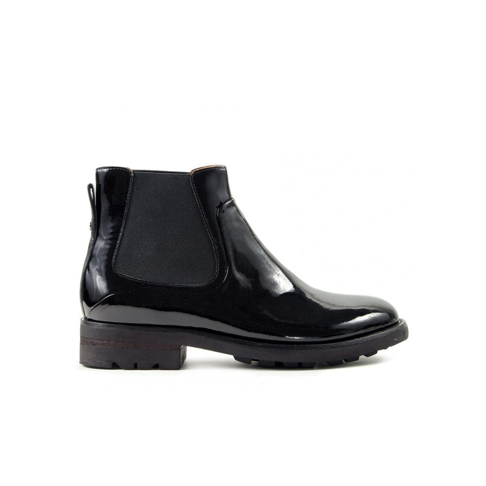 Carter Patent Boot - Black