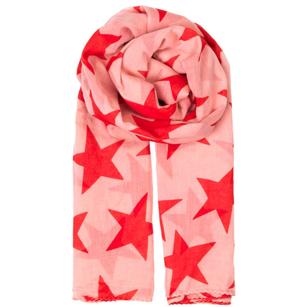 Fine Twilight Scarf - Strawberry Ice