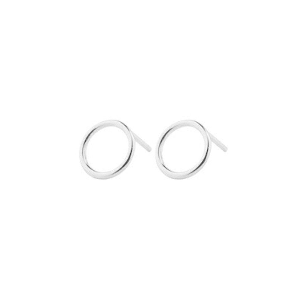 Halo Earring - Silver
