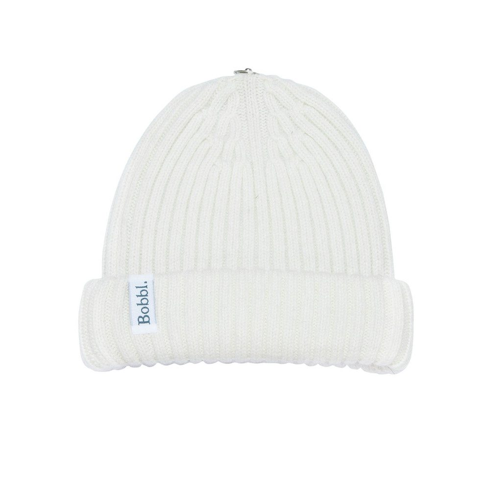 Bobbl Cashmere Hat - Cream