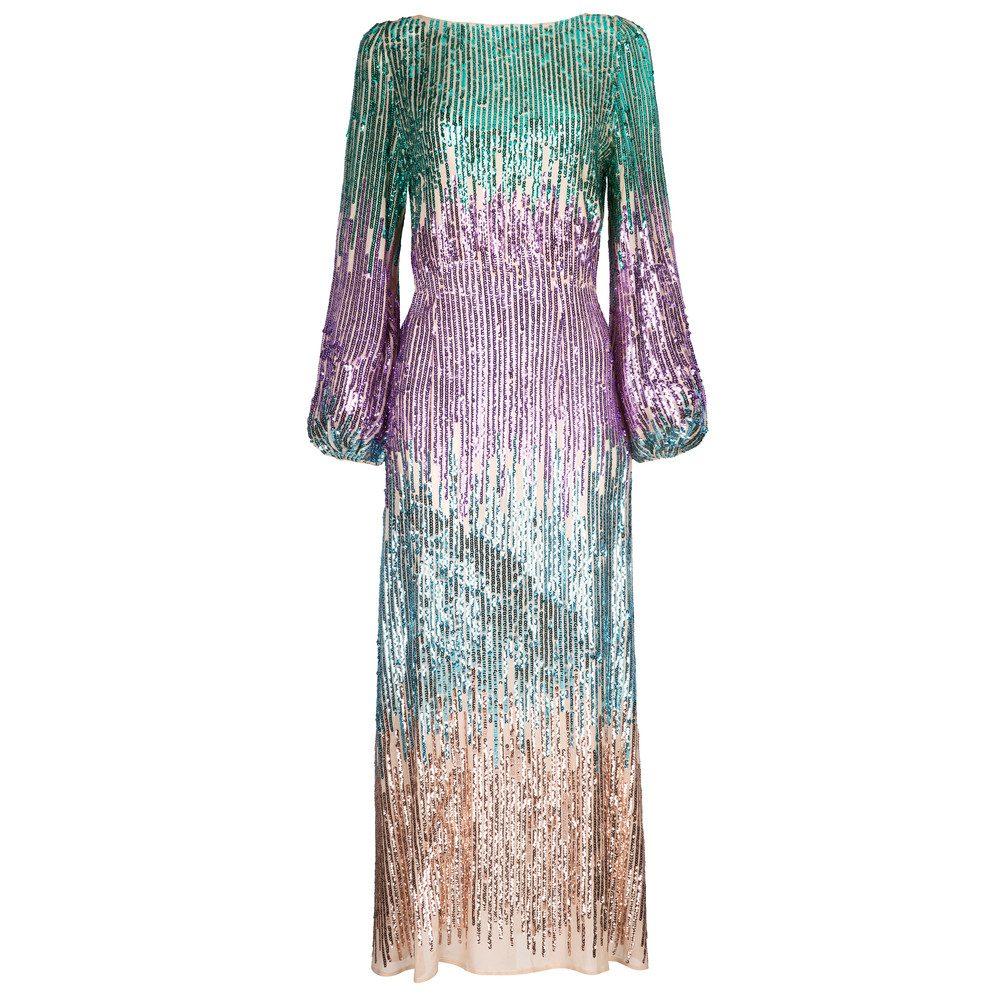 Coco Dress - Multi Sequin