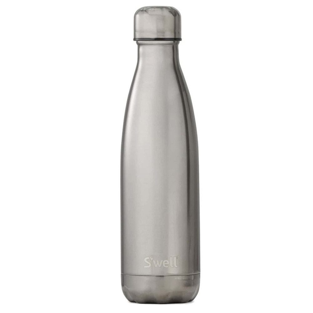 Metallic 17oz Water Bottle - Titanium