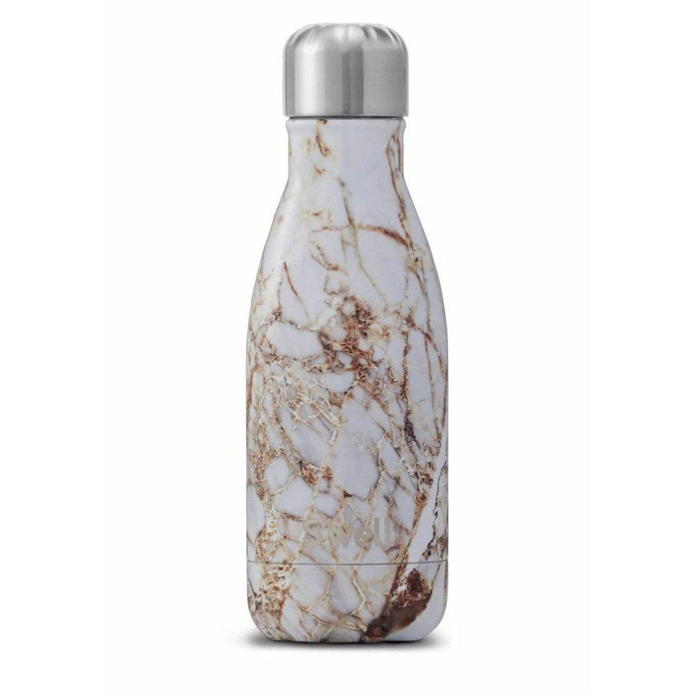 The Element 9oz Water Bottle - Calacatta Gold
