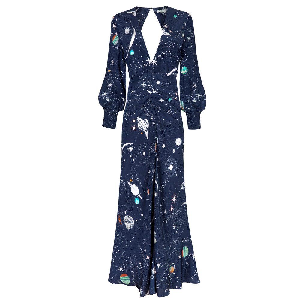 Maressa Printed Dress - Cosmic Constellation