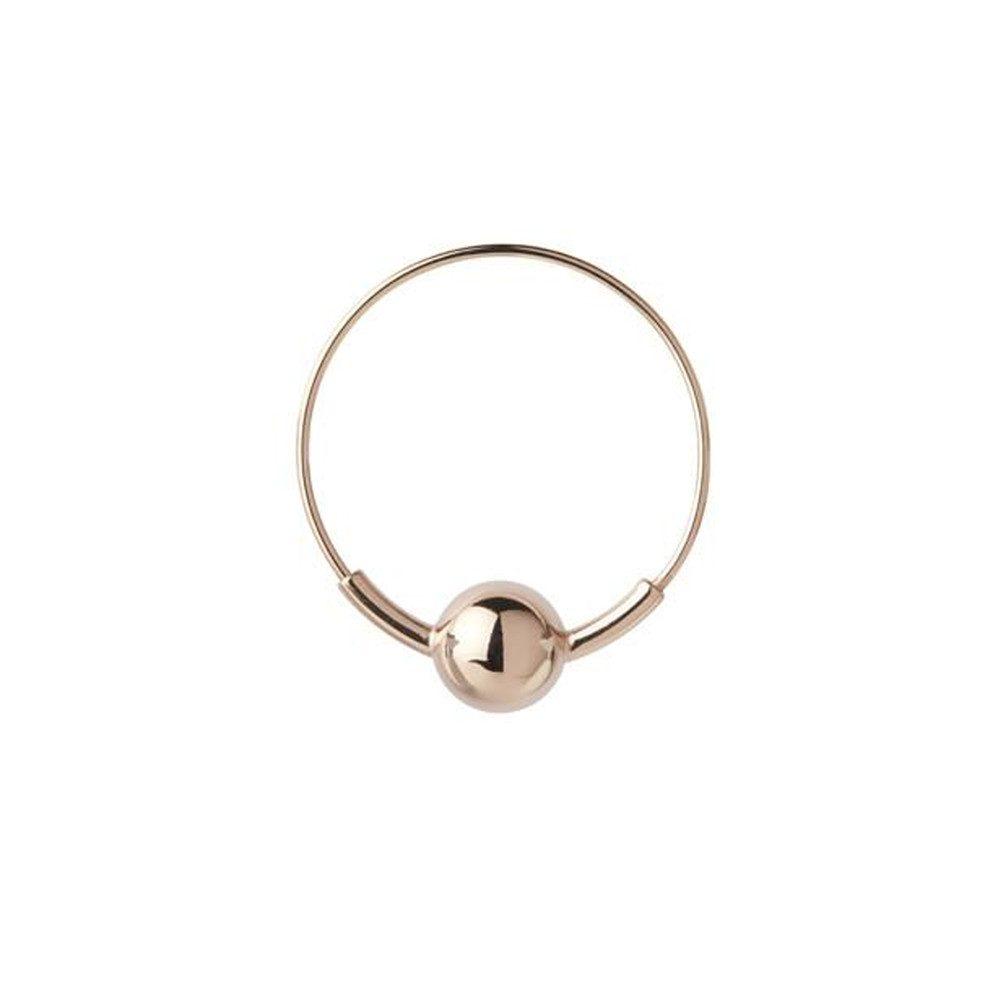 Hoop 8 Earring - Rose Gold