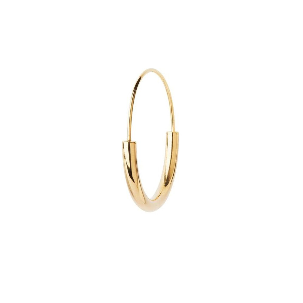 Serendipity Medium Hoop - Gold