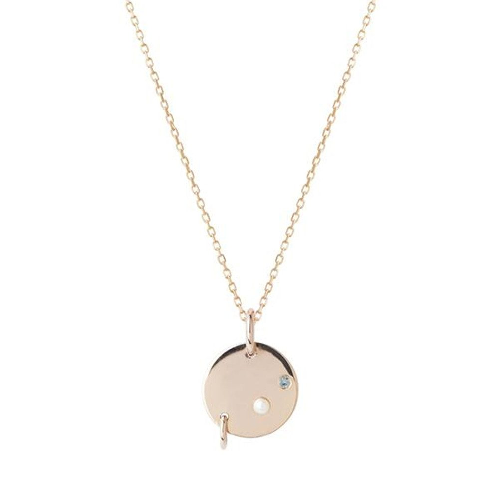 Faraday Necklace - Rose Gold