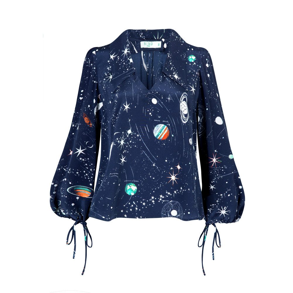 Lyla Blouse - Cosmic Constellation
