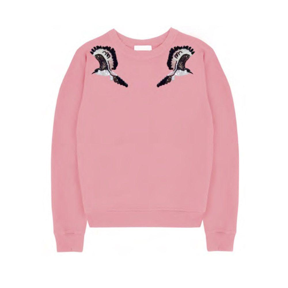 Liv Embellished Sweatshirt - Pink