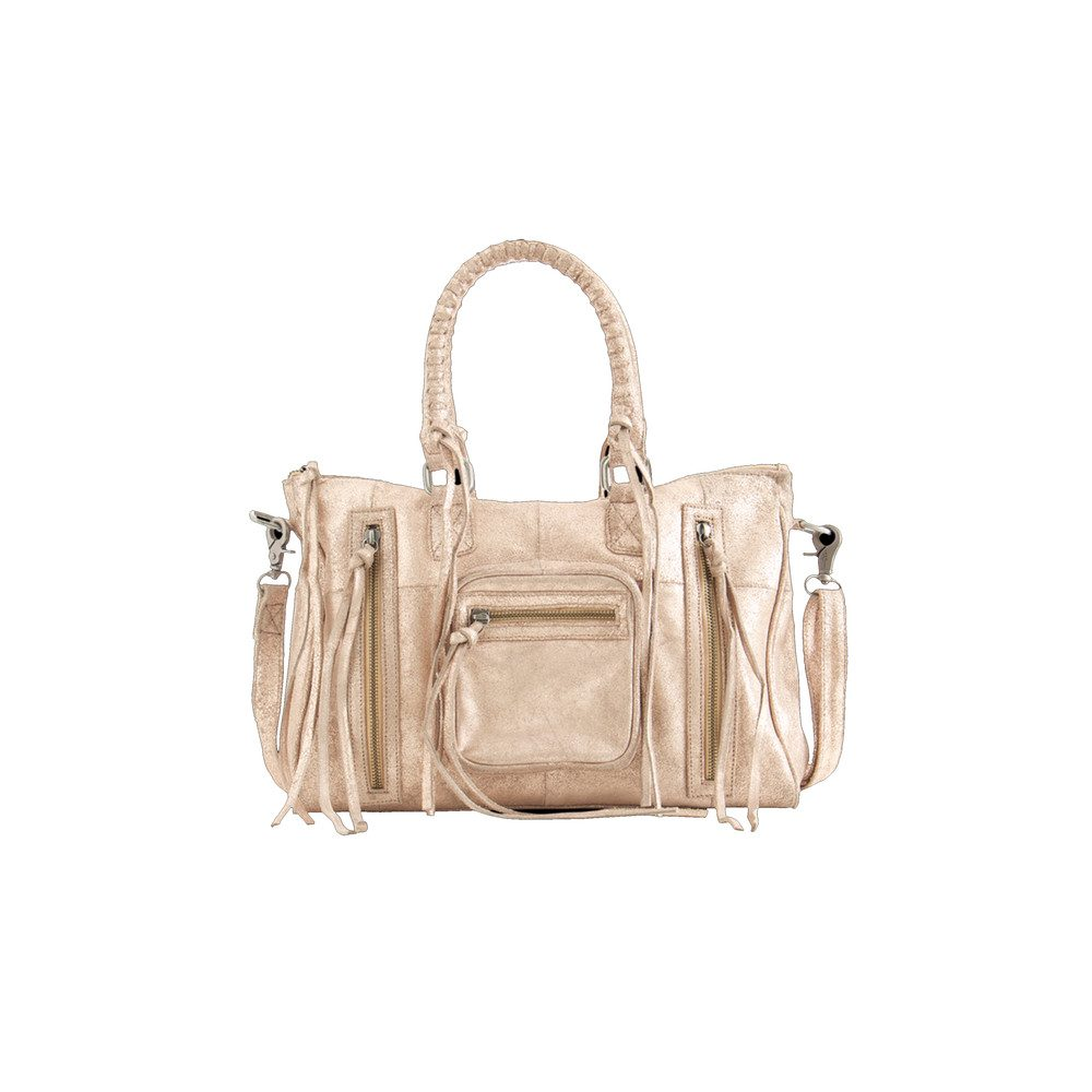 ROSE SATCHEL - PALE BLUSH