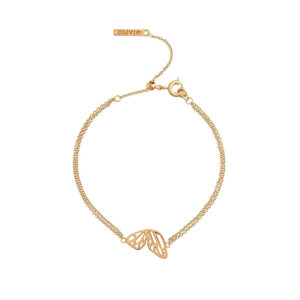 BUTTERFLY WING BRACELET - GOLD