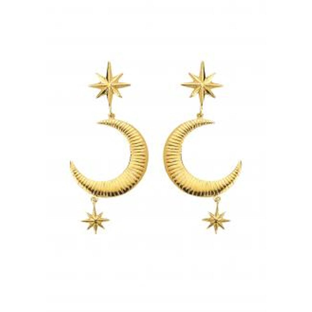 Marlowe Earrings - Gold