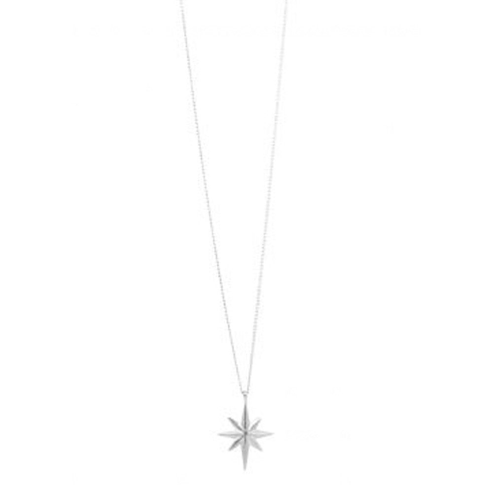 Colette Star Necklace - Silver