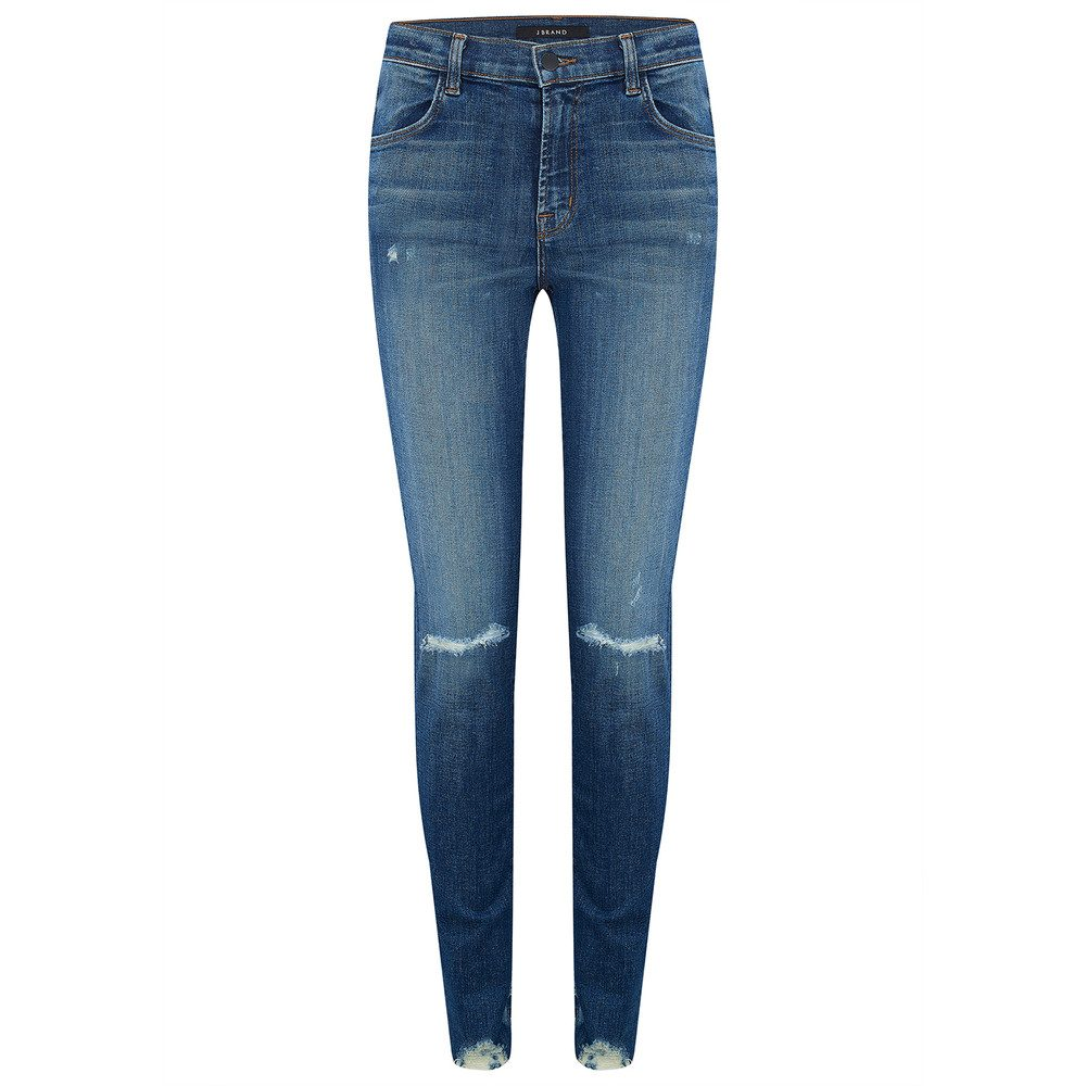 Maria High Rise Super Skinny Jeans - Revoke Destruct