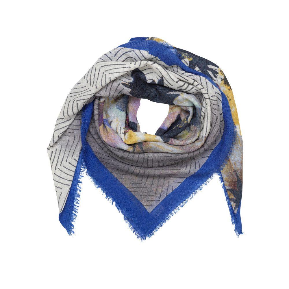 Olina Wool Mix Scarf - Dazzling Blue