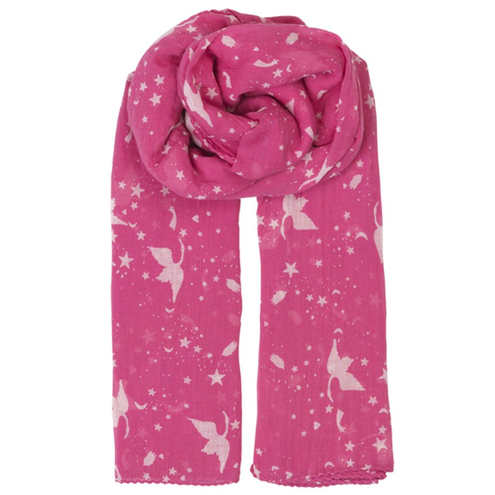 Hira Cotton Scarf - Pink Yarrow