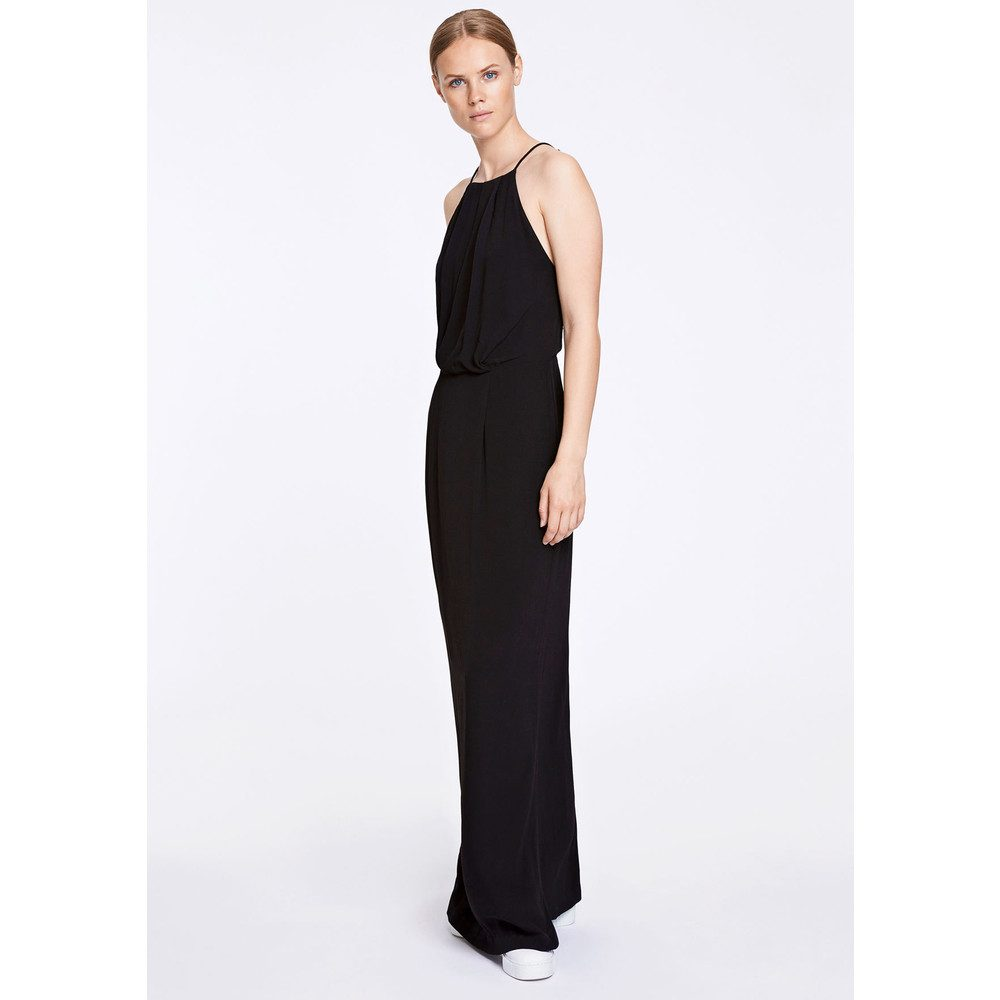 Willow Long Dress - Black