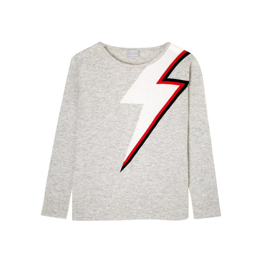 Bowie Sweater - Light Grey