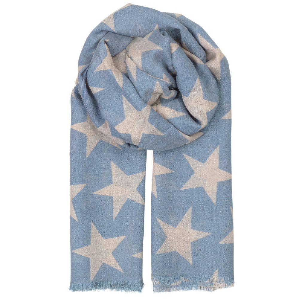 SUPERSIZE NOVA SCARF - LICHEN BLUE