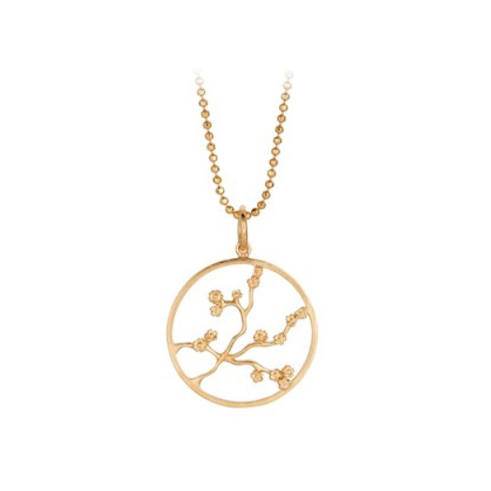 Sakura Necklace - Gold