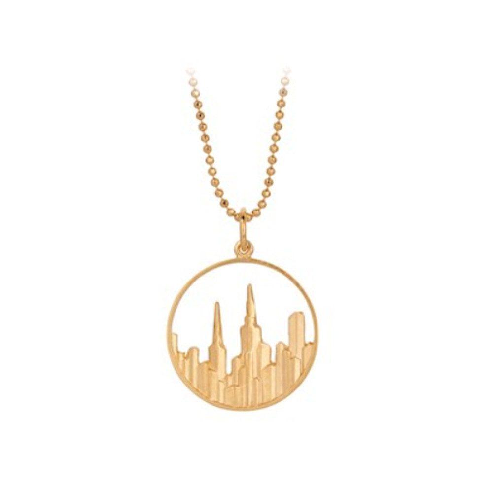 Maze Necklace - Gold