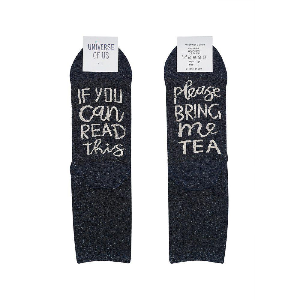 Sparkle Socks - Tea