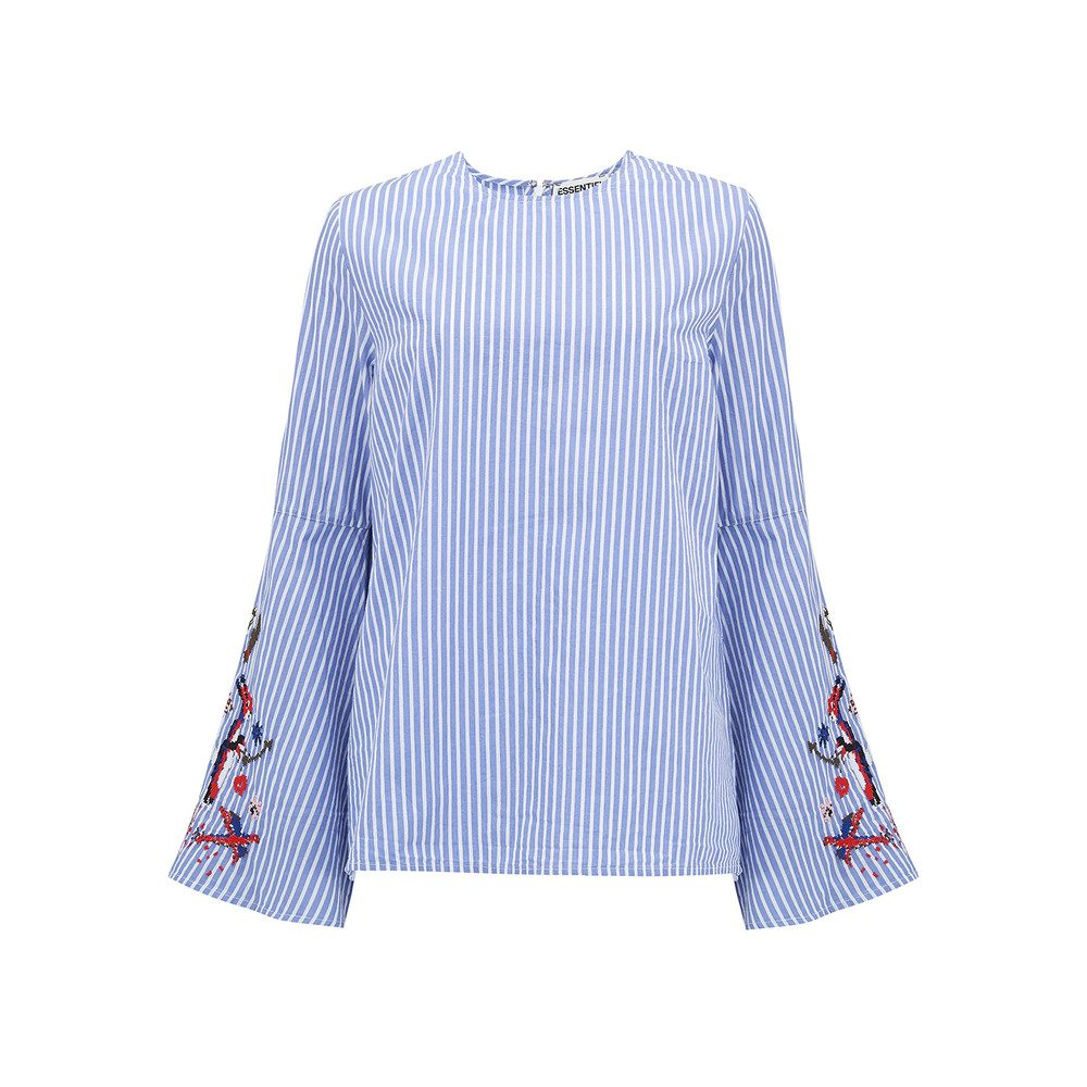Paradise Long Sleeve Shirt - British Blue
