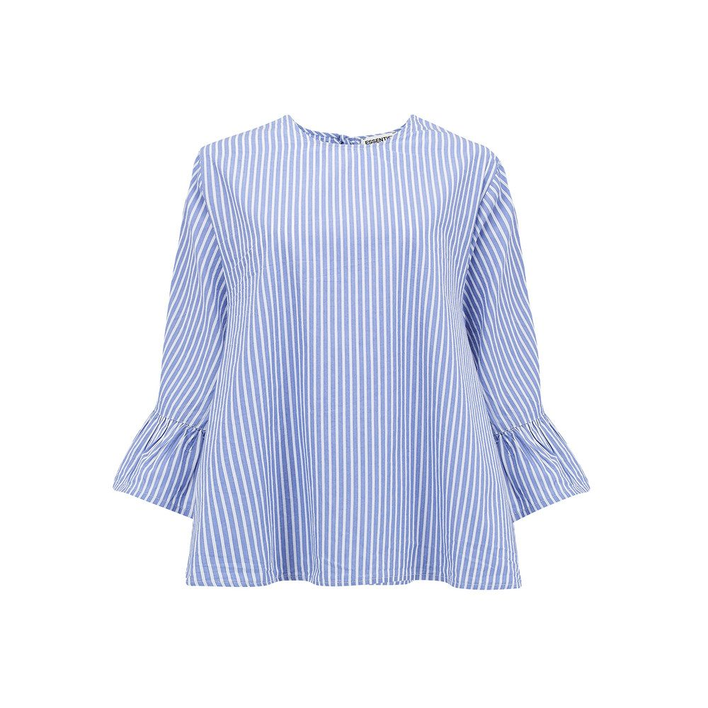 Pitbull Short Sleeve Blouse - British Blue