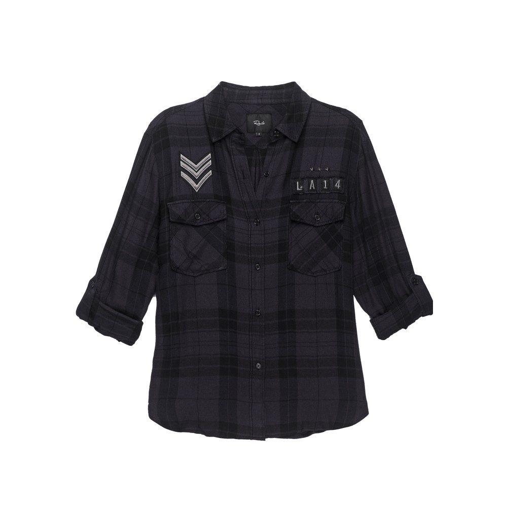 Pepper Shirt - Onyx/ Charcoal