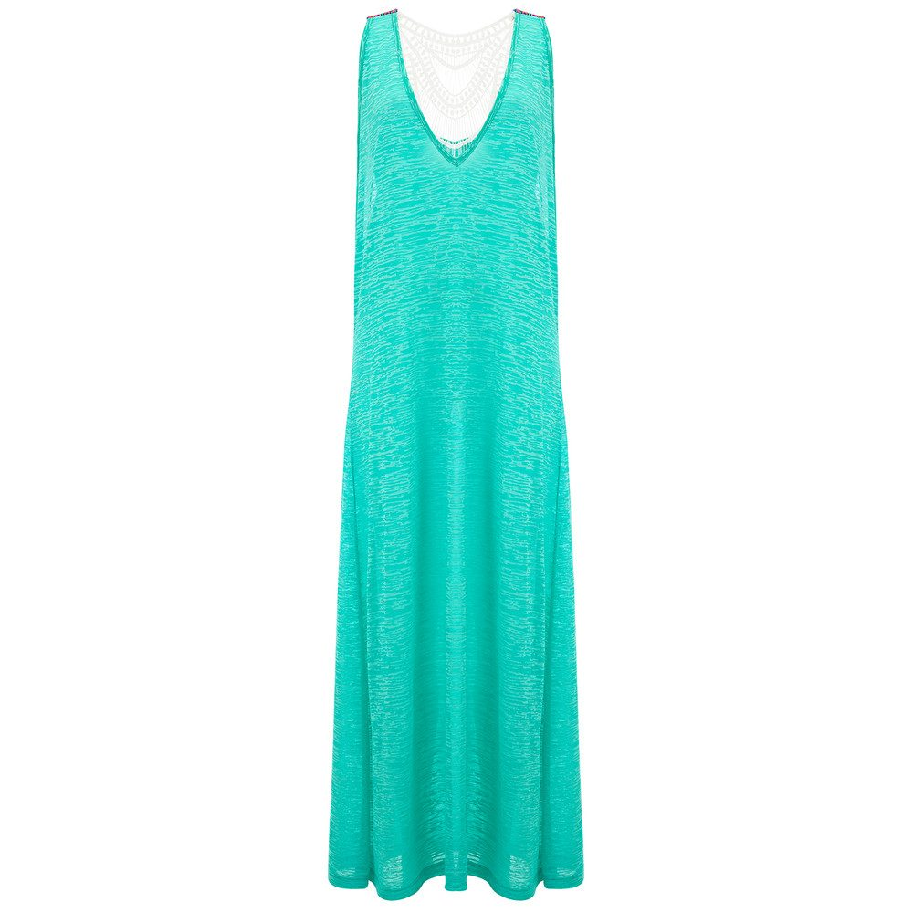 Crochet Maxi Dress - Mint