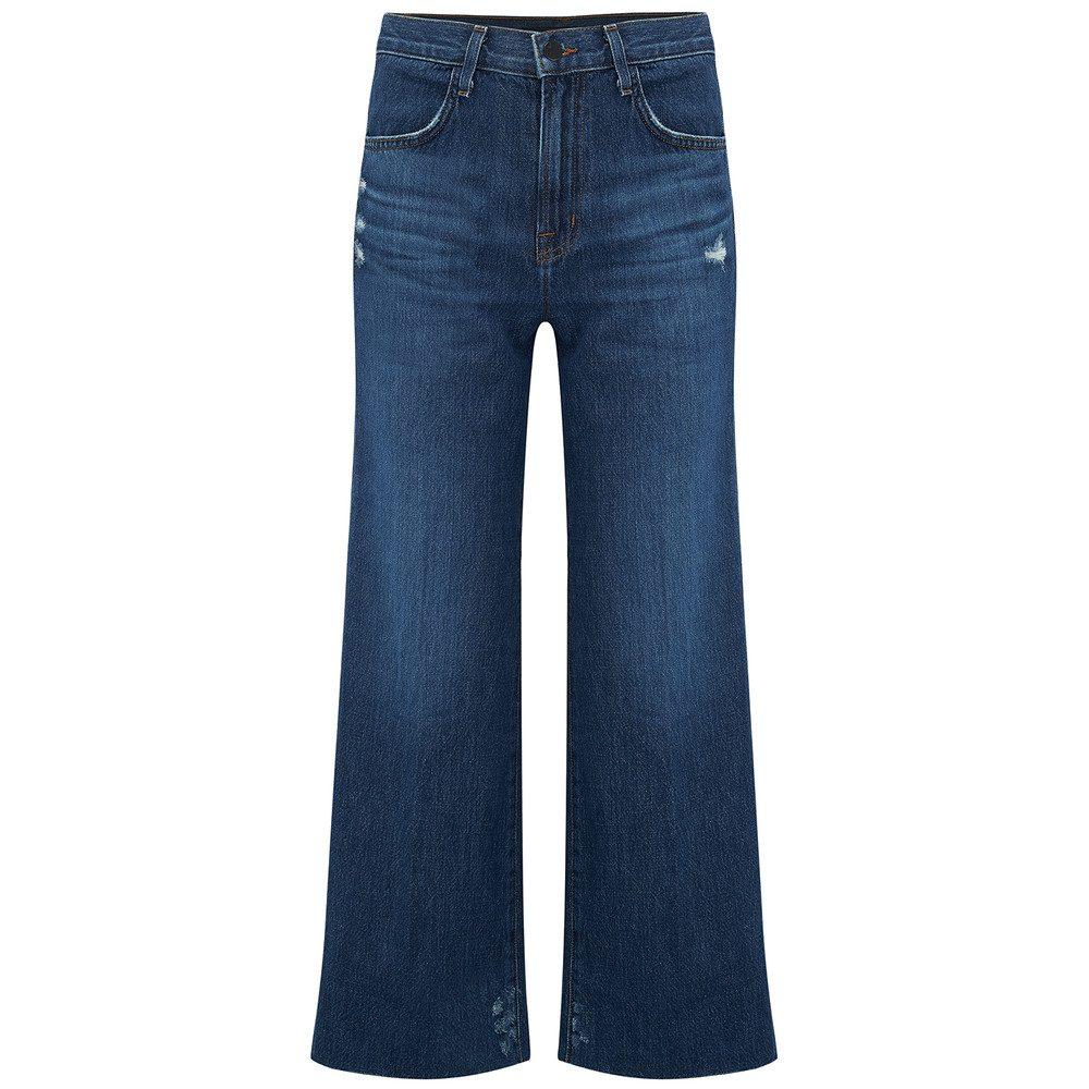 Joan High Rise Wide Leg Crop Jeans - Doubletake