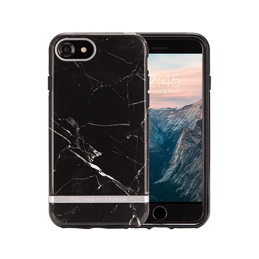 Standard iPhone 6/7/8 Case - Black Marble