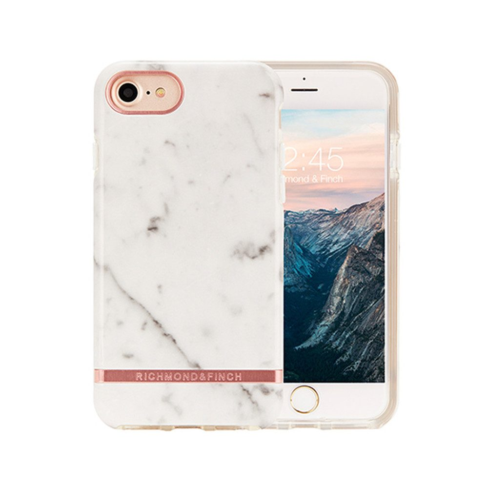 Standard iPhone 6/7/8 Case - White Marble
