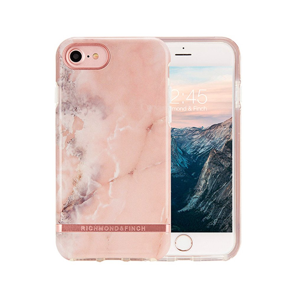 Standard iPhone 6/7/8 Case - Pink Marble