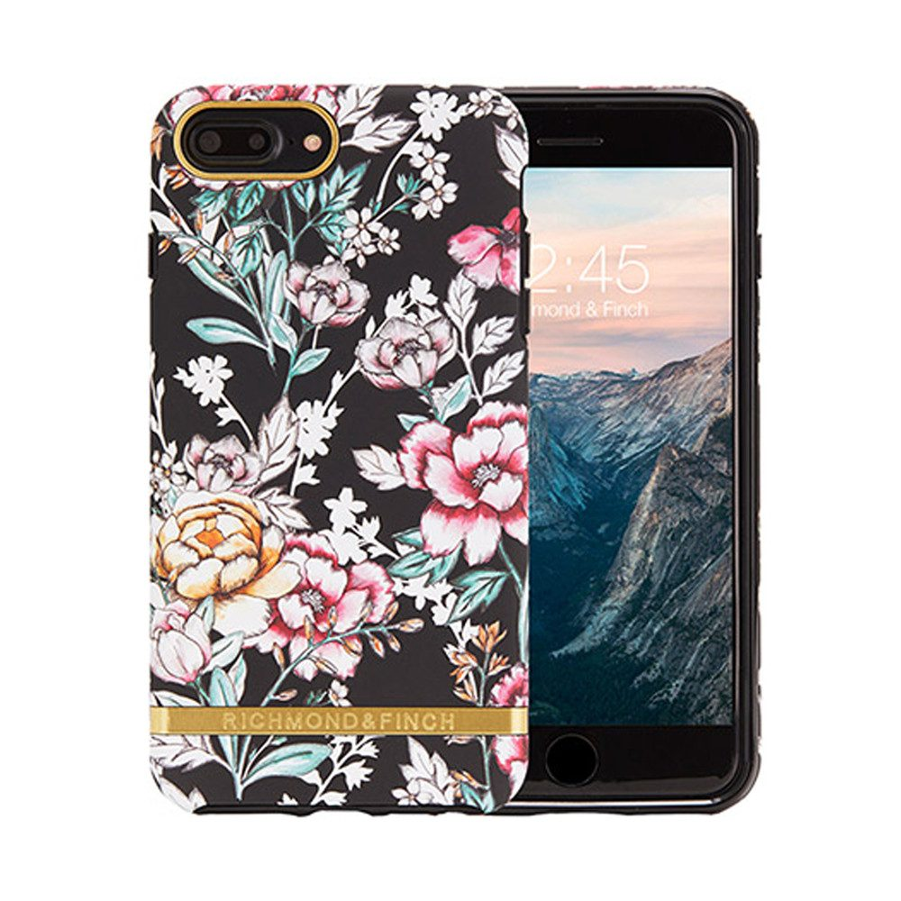 iPhone 6/7/8 Plus Case - Black Floral