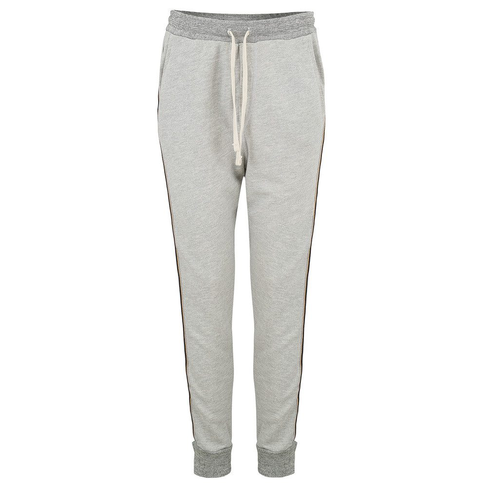 Slash Pocket Sweat Pants - Heather Grey