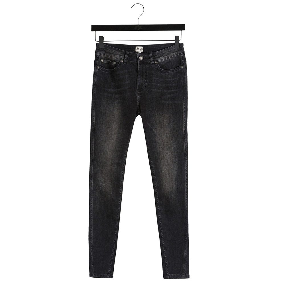 Julia Ankle Jeans - Washed Grey