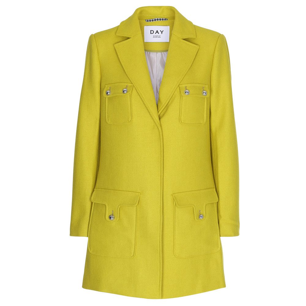 Day Try It Coat - Sour