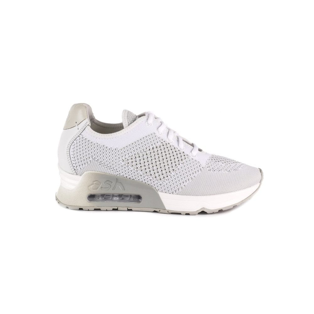 Lucky Knit Trainers - White & Marble