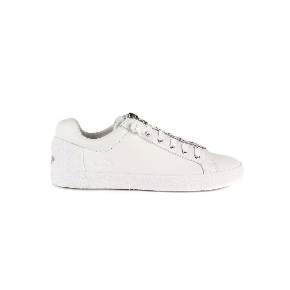 Nirvana Zip Trainers - White