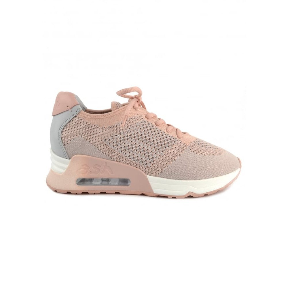 Lucky Knit Trainers - Nude Pearl