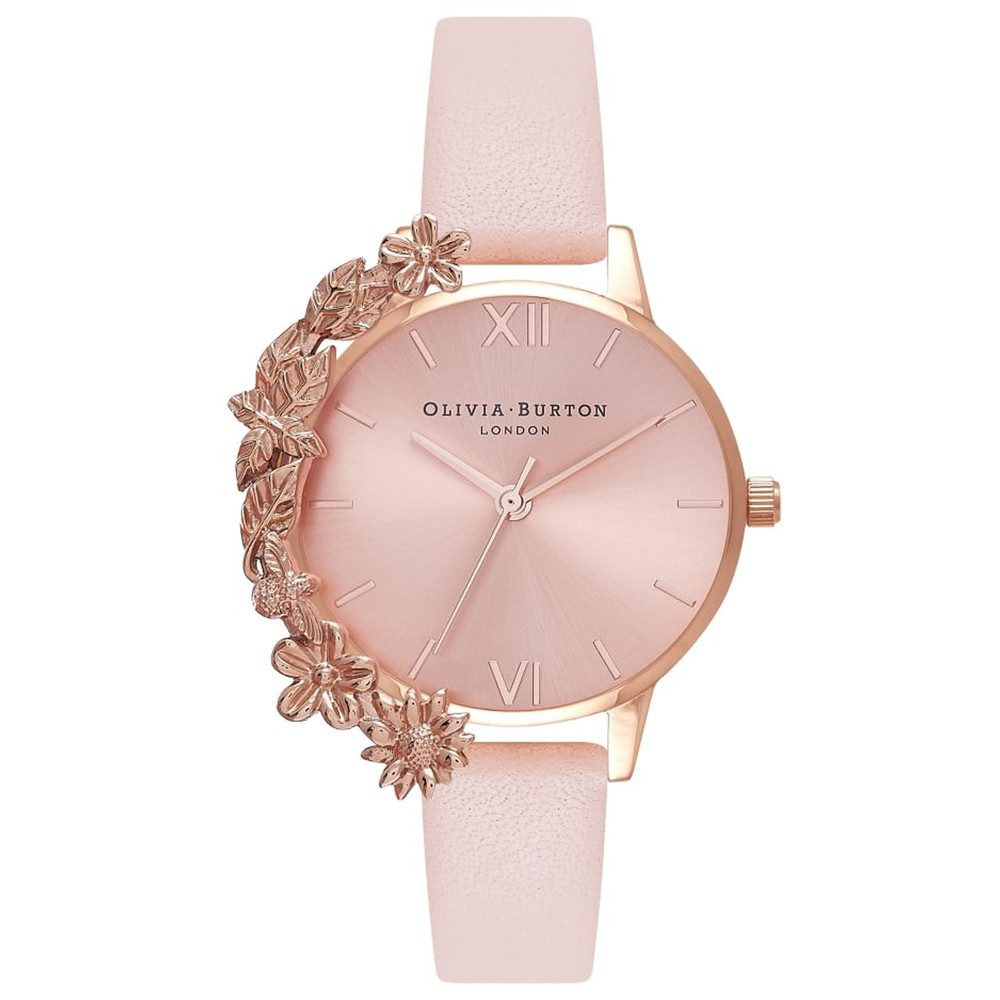 Case Cuff Watch - Nude Peach & Rose Gold