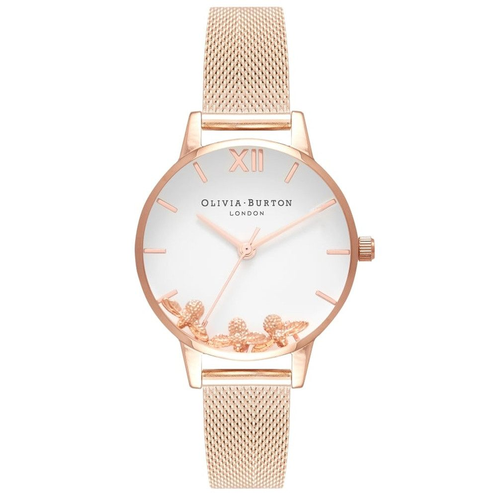 Busy Bee's Mesh Watch - Rose Gold