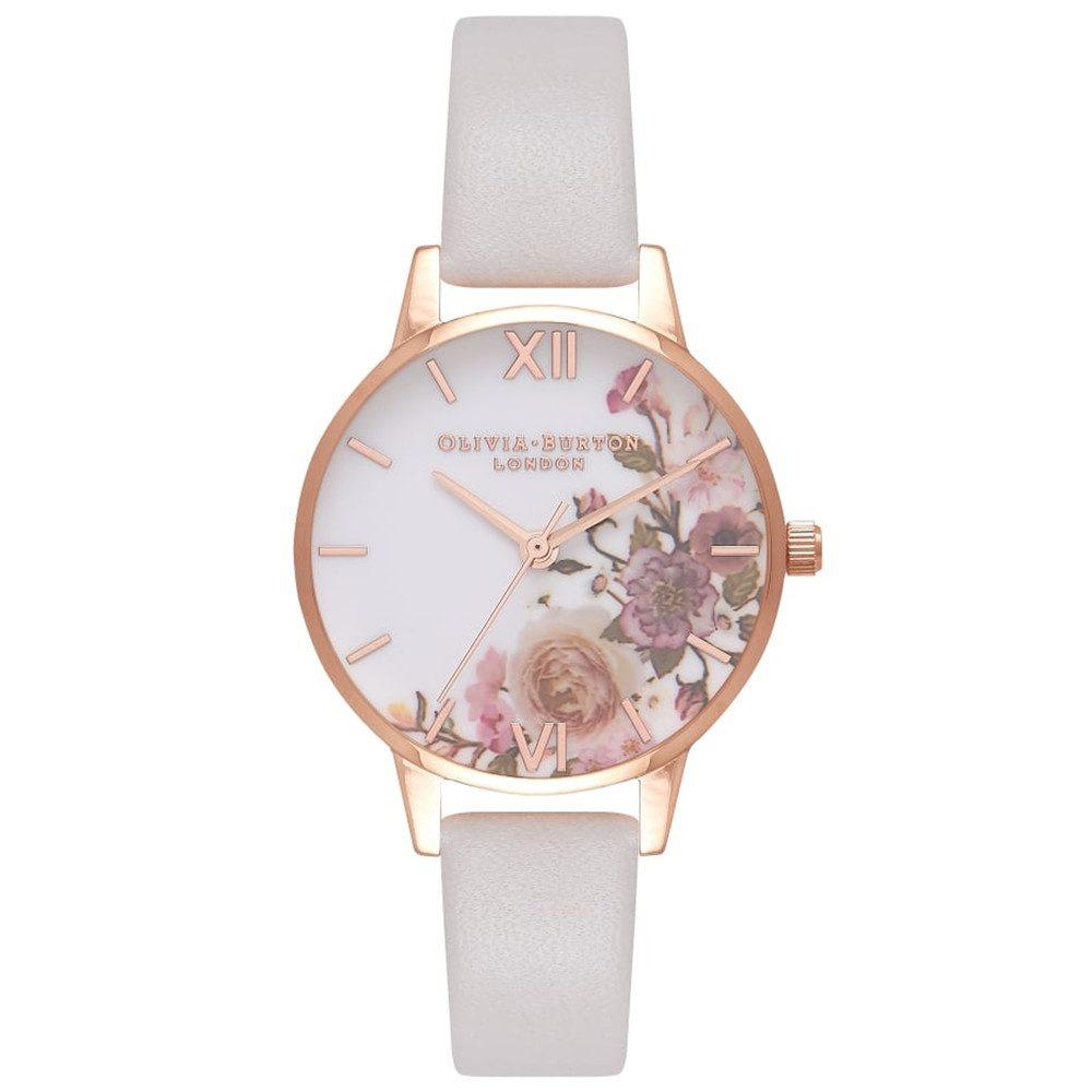 Enchanted Garden Midi Watch - Blush & Rose Gold
