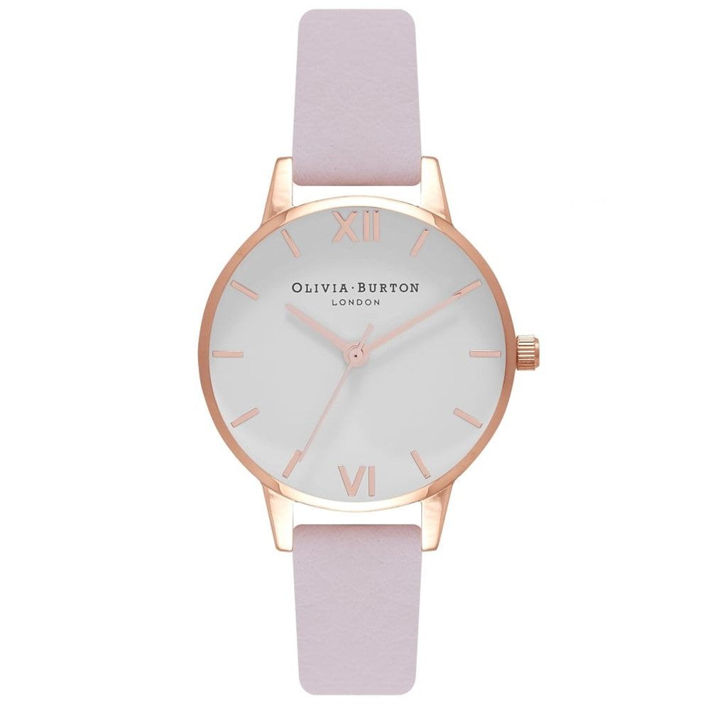 Midi White Dial Watch - Blossom & Rose Gold