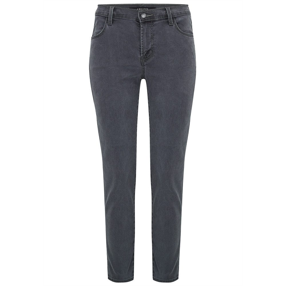 Alana High Rise Crop Skinny Jeans - Dust