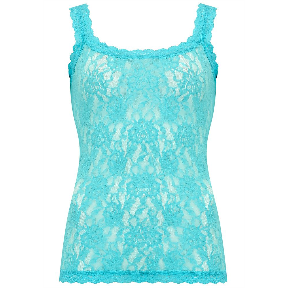 UNLINED LACE CAMI - Sea Foam