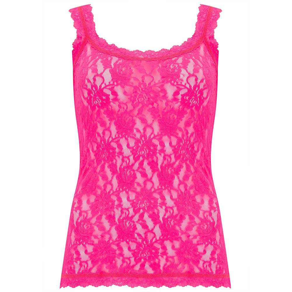 UNLINED LACE CAMI - Passionate Pink